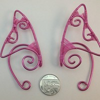 Pink Elf Ear Tips - Ear Cuffs - Shop Earcuffs at RebelsMarket