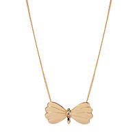 And Mary Enamel Butterfly Necklace