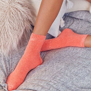 Out From Under Chenille Sock | Urban Outfitters