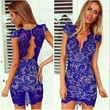 Blue Pleasures Dress
