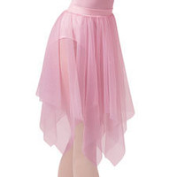 Long Sheer Handkerchief Ballet Skirt; Balera