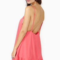 Warm Summer Nights Dress - Coral