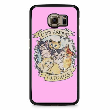 Cats Against Cat Calls Samsung Galaxy S6 Edge Case