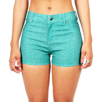 Hot Hue High Waist Shorts | Shorts at Pink Ice