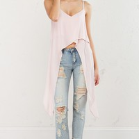 Asymmetrical Top in Dusty Pink