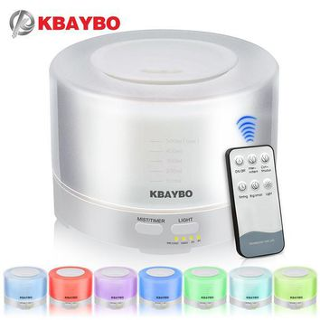 500 ml Oil Humidifier/Diffuser with Remote1