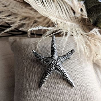 James Avery Retired Rare Starfish Sterling Silver Pin Brooch