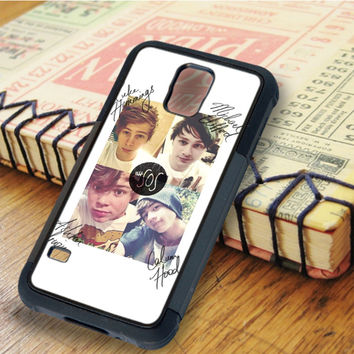 A5 seconds of summer signature 5 SOS Calum Hood Luke Hemmings Ashton Irwin | For Samsung Galaxy S6 Cases | Free Shipping | AH0714