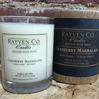 Cranberry & Marmalade Candle