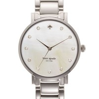 Women's kate spade new york 'gramercy' crystal marker watch, 34mm