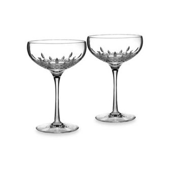Waterford® Lismore Essence Saucer Champagne Glasses (Set of 2)