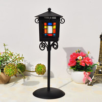 Home Decor Iron Lights Metal Decoration Gifts Candle Stand [6282990022]