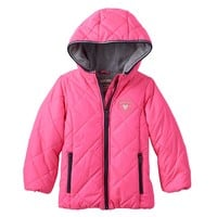 OshKosh B'gosh Hooded Quilted Jacket - Girls