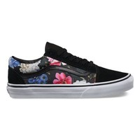 Vans Floral Old Skool (black/true white)