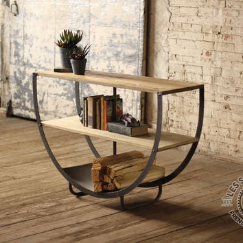 Iron and Wood Console