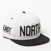 Caylor & Sons BL North Snapback Hat - Mens Backpack - White - One