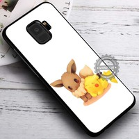 Eevee and Pikachu Pokemon iPhone X 8 7 Plus 6s Cases Samsung Galaxy S9 S8 Plus S7 edge NOTE 8 Covers #SamsungS9 #iphoneX