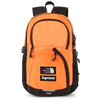 Supreme The North Face TNF Backpack Leaves Deciduous Backpack