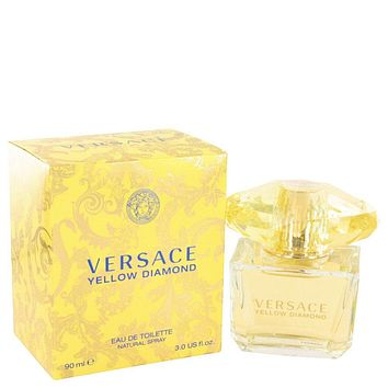 Versace Yellow Diamond By Versace Eau De Toilette Spray 3 Oz