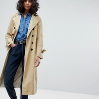 BOSS Casual Trench Coat at asos.com