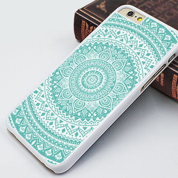 iphone 6 case,blue mandala iphone 6 plus case,blue flower iphone 5s case,idea iphone 5c case,fashion iphone 5 case,art iphone 4s case,personalized iphone 4 case