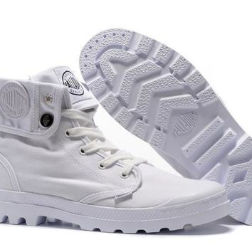Palladium Baggy Lll Men Turn High Boots White - Beauty Ticks