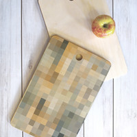 Madart Inc. Desert Sand Cutting Board Rectangle
