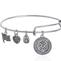 Alex and Ani  pendant charm bracelet,a perfect gift !