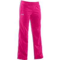 Under Armour Girls' Power In Pink Armour Fleece Storm Fleece Pants
