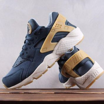 DCCK2 N215 Nike Air Huarache Premium SE Causal Running Shoes Blue