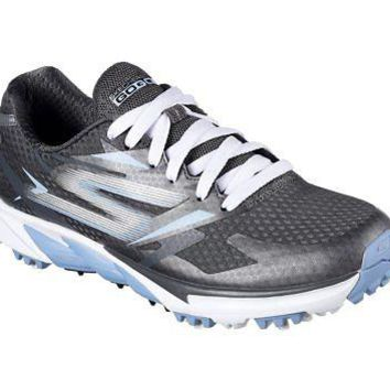 Licensed Golf New Skechers Go  Blade Power Womens Shoes 14860 Gray/Blue