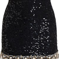 Ashish embellished mini skirt