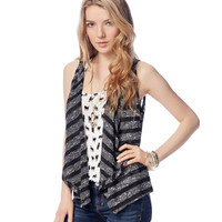 Aeropostale Womens Snit Cardigan Sweater -