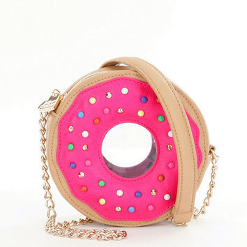 Betsey Johnson Donut Cross-Body Bag | Dillards