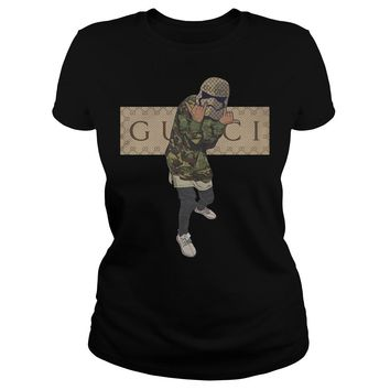 d9599bc1 Star wars Stormtrooper Gucci shirt Classic Ladies Tee