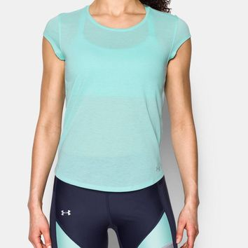 Women's UA Threadborne™ Mesh Short Sleeve | Under Armour US