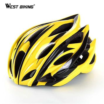 Bicycle Cycling Helmet Tour de France Ultralight IN-MOLD Road Mountain 22+ Air Vents Against Shock Ciclismo MTB Bicycle Helmets