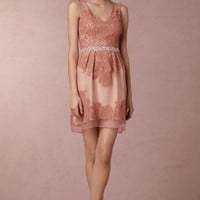 Wedding Guest Dress by Anthropologie x BHLDN in Peach Size: