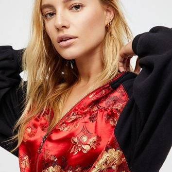 Free People Gabbie Zip-Up Hoodie