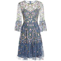 Needle & Thread Dragonfly Embellished Midi Dress | Harrods.com