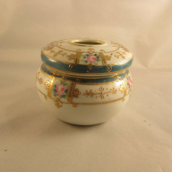 Antique Hair Receiver Nippon China