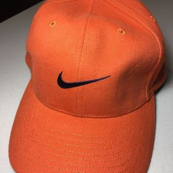 8f63d1d3d5c DCCKIHN BRAND NEW RETRO NIKE BURNT ORANGE CURVED BRIM HAT SHIPPING