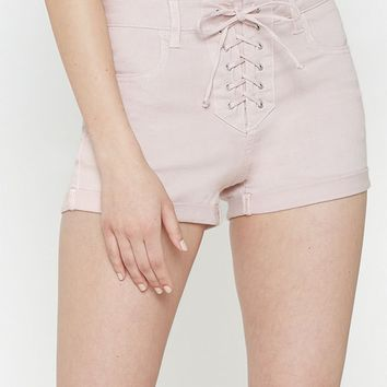 PacSun Princess High Rise Super Stretch Denim Shorts at PacSun.com