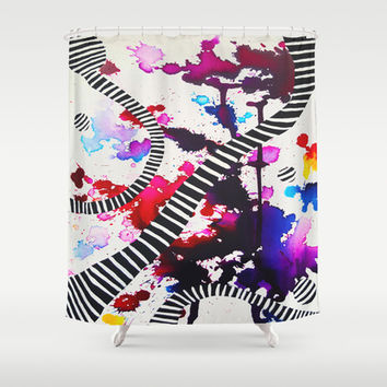 Splash Shower Curtain by DuckyB (Brandi)