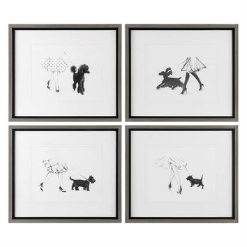 Perfect Companions Canine Prints S/4