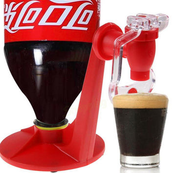 Drink machines Upside Down Drinking Fountains Cola Beverage Switches Drinkers Hand Pressure Water Dispenser Automatic Switch