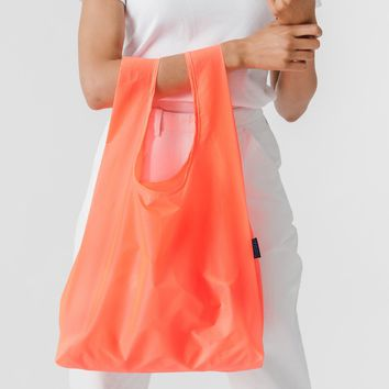 Electric Poppy Standard Reusable Shopping Bag by Baggu