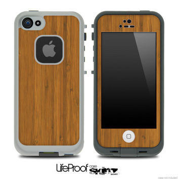 Bamboo Wood Skin for the iPhone 4/4s or 5 by TheSkinDudes on Etsy