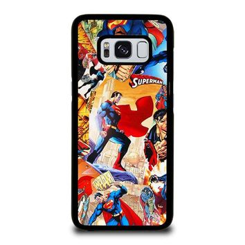 SUPERMAN DC HERO Samsung Galaxy S8 Case Cover