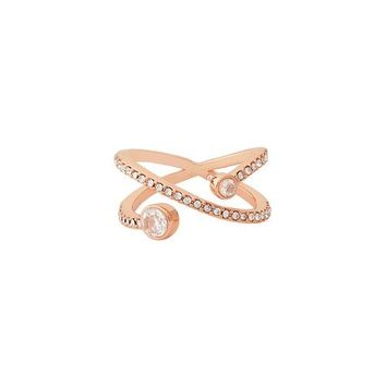 Sparkling Rosé Orbit Ring by Chloe + Isabel
